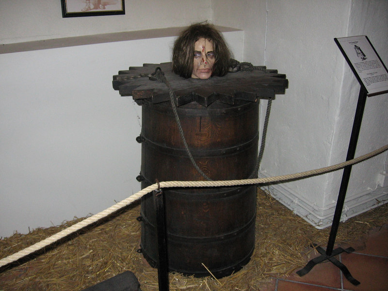 Image result for barrel pillory