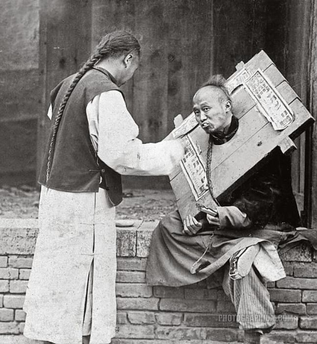Pillory And Stocks Chinese